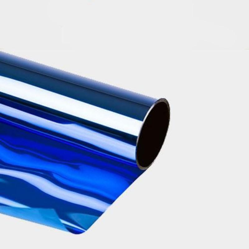 sonnenschutzfolie blau selbstklebend fensterfolie t nungsfolie 75 x 300cm folien. Black Bedroom Furniture Sets. Home Design Ideas