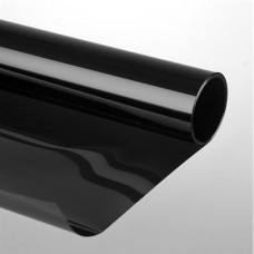 Sonnenschutzfolie 75 x 300cm kratzfest schwarz Selbstklebend
