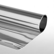 """Sonnenschutzfolie """"Extrem"""" mit Spiegeleffekt 75 x 300 cm Selbstklebend Silber"""